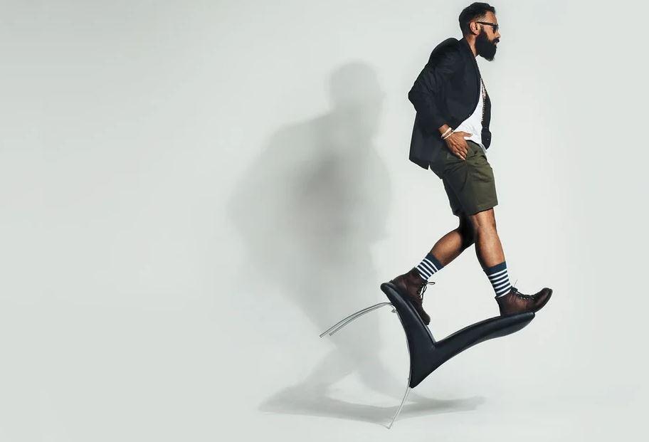 Du style en bermuda homme